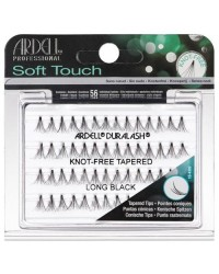 Duralash Soft Touch Knot Free Tapered Long Black
