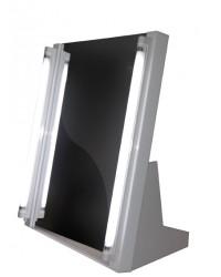 Verlichte draagbare spiegel