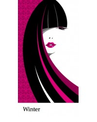 Haarstaalkaart Winter