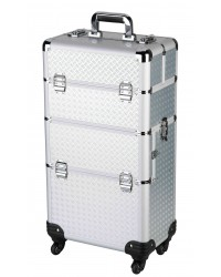 Professionele Beauty Trolley 2 in 1 Silver