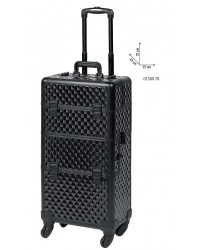 Professionele Beauty Trolley 2 in 1 Black