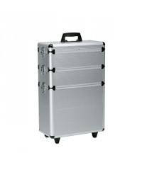 Koffer met 3 Opbergruimtes op wieltjes
