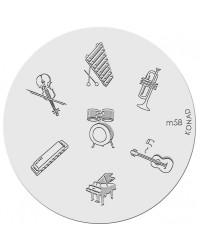 Image Plate Konad M58
