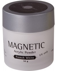 Acrylic Powder UV French White 50gr