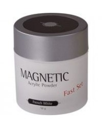 Acrylic Powder Fast Set White 50gr