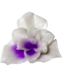 Fimo Flower Small Light Purple 02