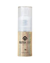 Glitter Spray Hologram Gold 17gr
