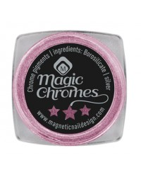 Magnetic Magic Holographic Chrome Pink Pigment 5gr