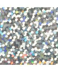 Foil Roll Silver Confetti 1.5m