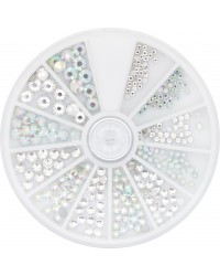 Strass Wheel Chrystal & Ice 270 pcs