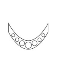 Smile Lines Silver Circle