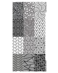 Stamping Plate by Geometric 1 pcs.