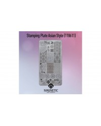 Stamping Plate Asian Style 1 pcs.