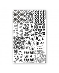 Stamping Plate Christmas 1 pcs.