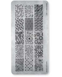 Stamping Plate 14 Hippie Summer 1 pcs.