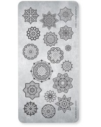Stamping Plate 15 Free Mandala 1 pcs.