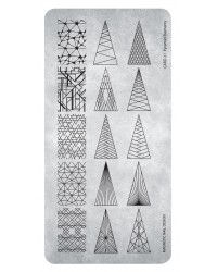 Stamping Plate Pyramid Elements 1 pcs.