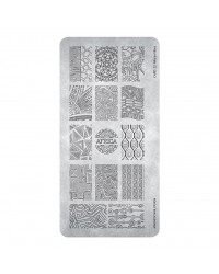 Stamping Plate African Vibes 1 pcs.