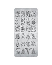 Stamping Plate 26 Christmas 2   1 pcs.