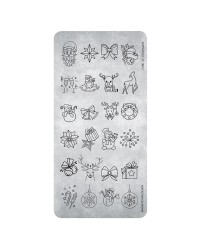Stamping Plate 27 Christmas 3    1 pcs.