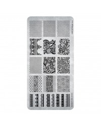 Stamping Plate Vintage Lace 1 pcs.