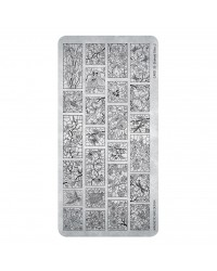 Stamping Plate 35 Stained Glass 2 - 1pcs