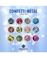Metal Confetti Collection 12 pcs