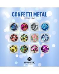 Metal Confetti Collection 12 pcs