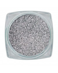 Magnetic Chrome Sparkle Silver