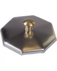 Metalen dekseltje voor glas dappendish small