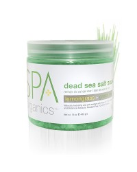 Dead Sea Salt Soak 450 gr. Lemongrass and Green Tea