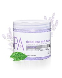 Dead Sea Salt Soak 450 gr. Lavendel and Mint