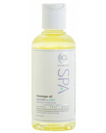 Massage Oil 90 ml. Lavendel and Mint