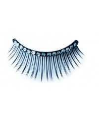 Eyelashes White Strass